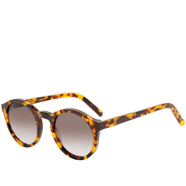 Monokel Barstow Round Sunglasses In Brown