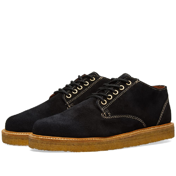 Wild Bunch Classic 5 Eyelet Shoe In Black