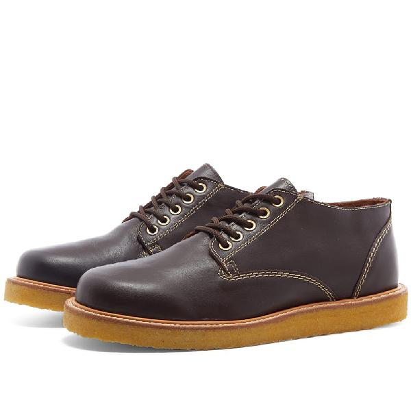 Wild Bunch Classic 5 Eyelet Shoe In Brown