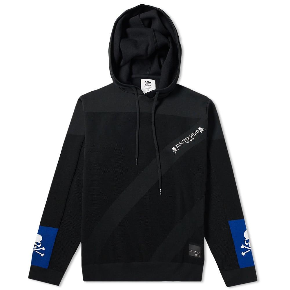 1591efd5cae88 Mastermind Japan Adidas X Mastermind World Pullover Hoody In Black ...