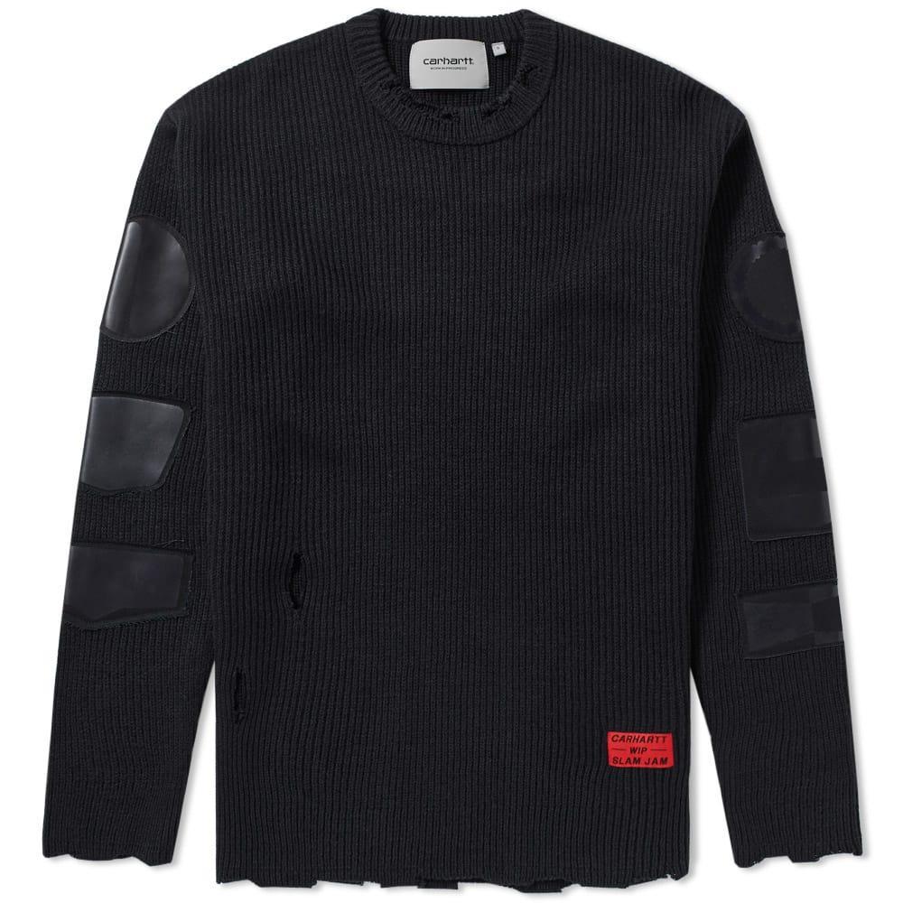 Carhartt X Slam Jam Minute Man Sweater In Black