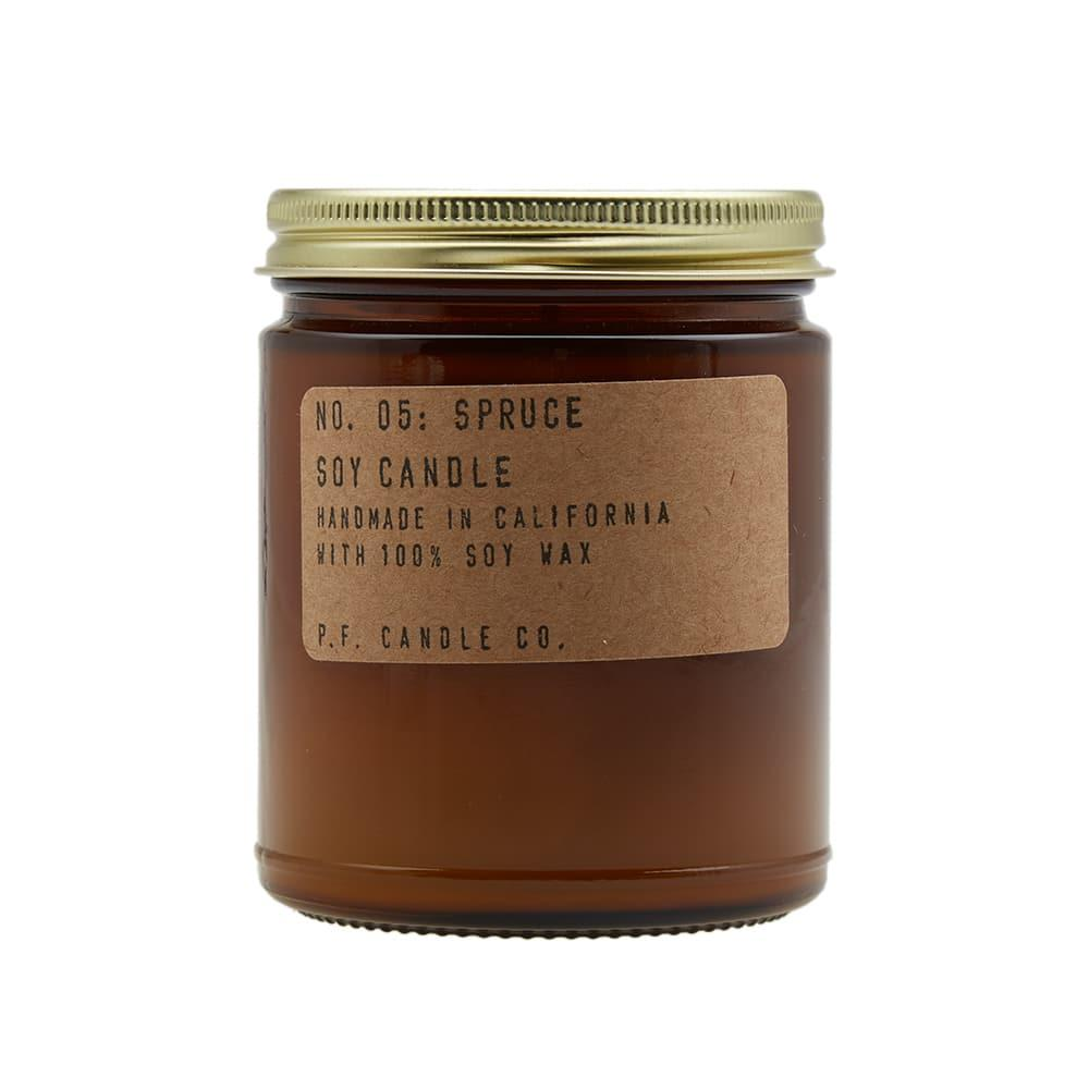 P F  Candle Co No 05 Spruce Soy Candle in N/A