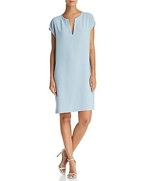 Theory Saturnina Shift Dress In Deep Morning Blue