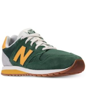 0161b3f46d6a New Balance Men s 520 Casual Sneakers From Finish Line In Team Forest  Green Varsity