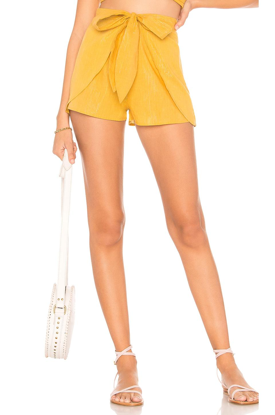 Cleobella X Revolve Indio Short In Yellow