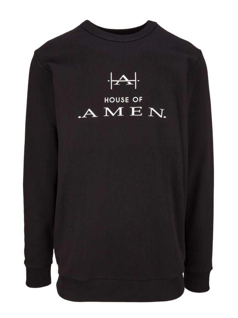 Amen Sweatshirt In Nero