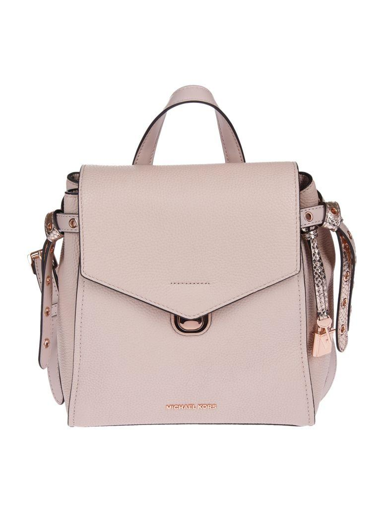 ef05f31d362825 Michael Kors Michael Bristol Small Backpack In Soft Pink | ModeSens