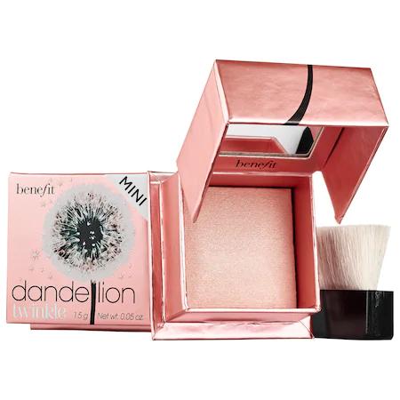 Benefit Cosmetics Dandelion Twinkle Highlighter Mini Nude-pink .05 oz/ 1.5 G In Nude Pink Mini