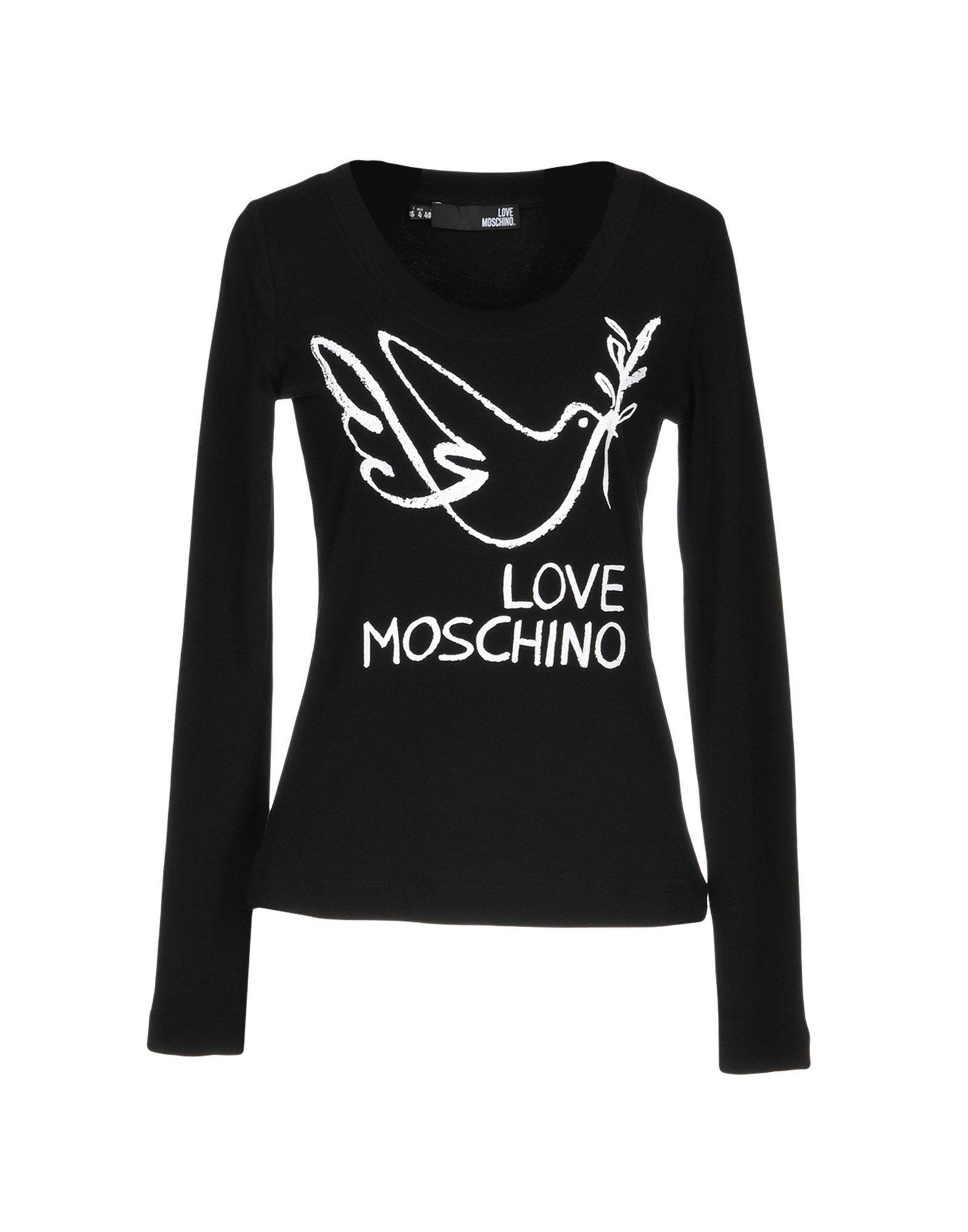 love moschino t shirts in black modesens. Black Bedroom Furniture Sets. Home Design Ideas