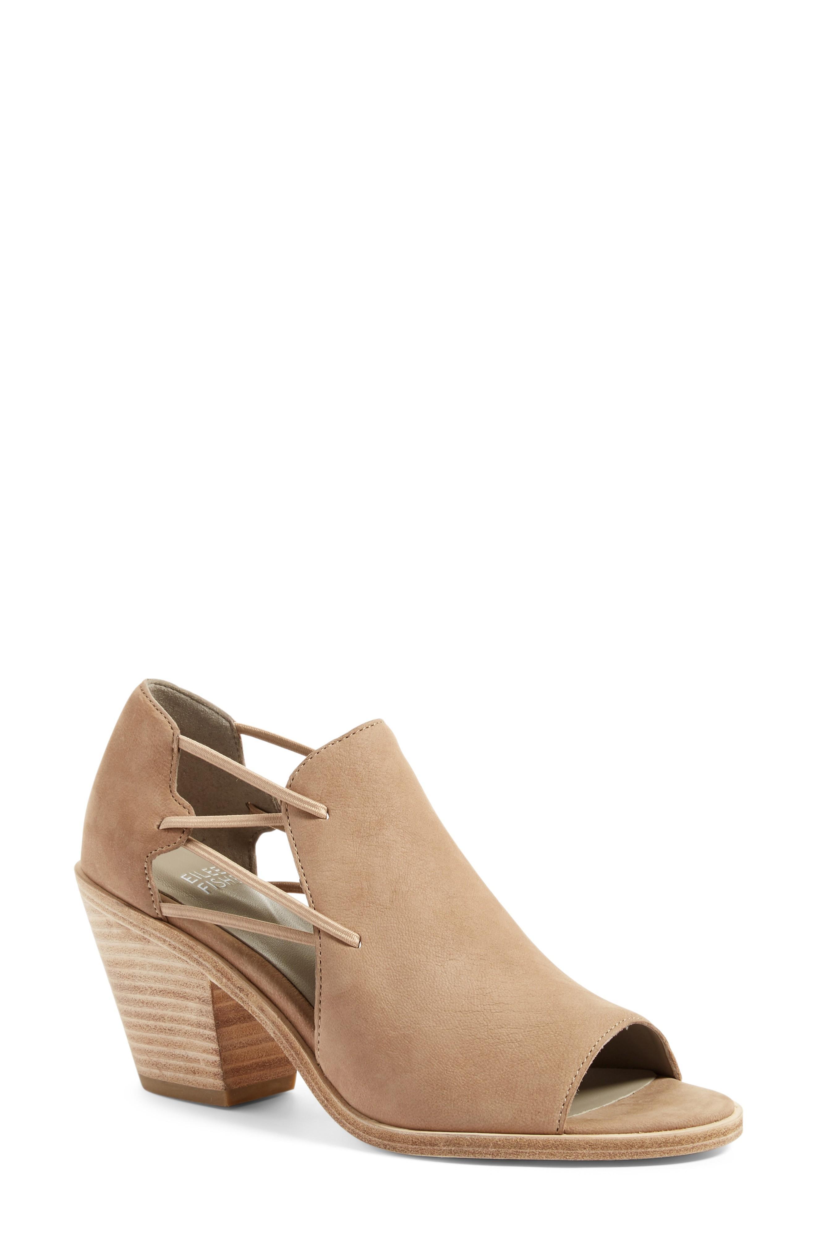 c37926c88b3 Nikki Peep Toe Sandal in Earth Leather
