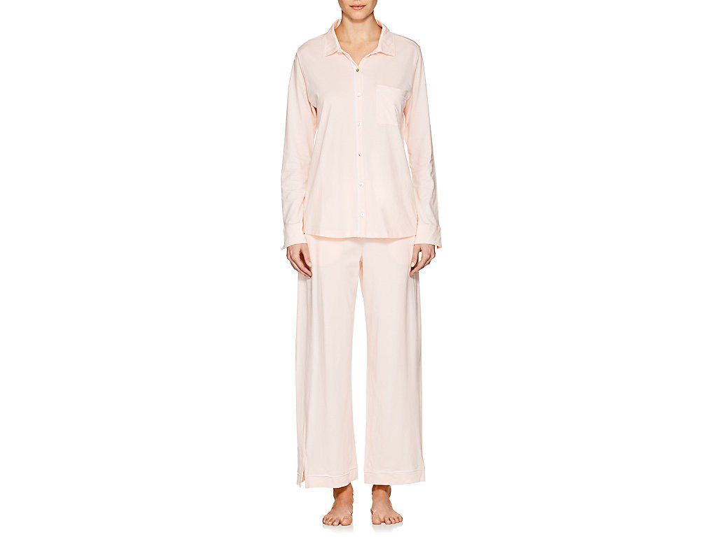 Skin Penelope Pima Cotton Pajama Set In Light/Pastel Pink