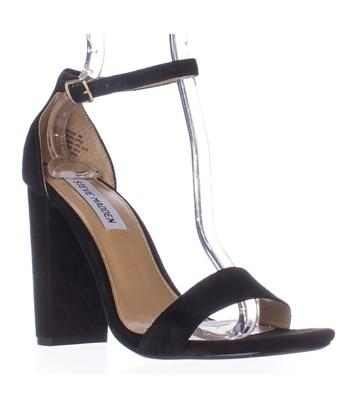 f6d9f2c1fb9 A minimalist ankle-strap sandal is set on a chunky heel. Style Name  Steve  Madden Carrson Sandal (Women). Style Number  5047376 3. Available in stores.
