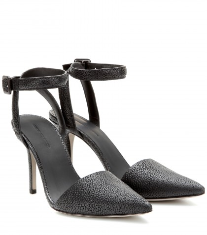 Alexander Wang Lovisa Leather Pumps In Llack