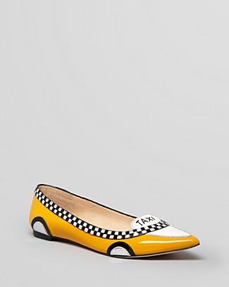 Kate Spade Go Taxi Ballet In Select Color