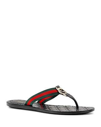 Gucci Gg Thong Sandal In Select Color