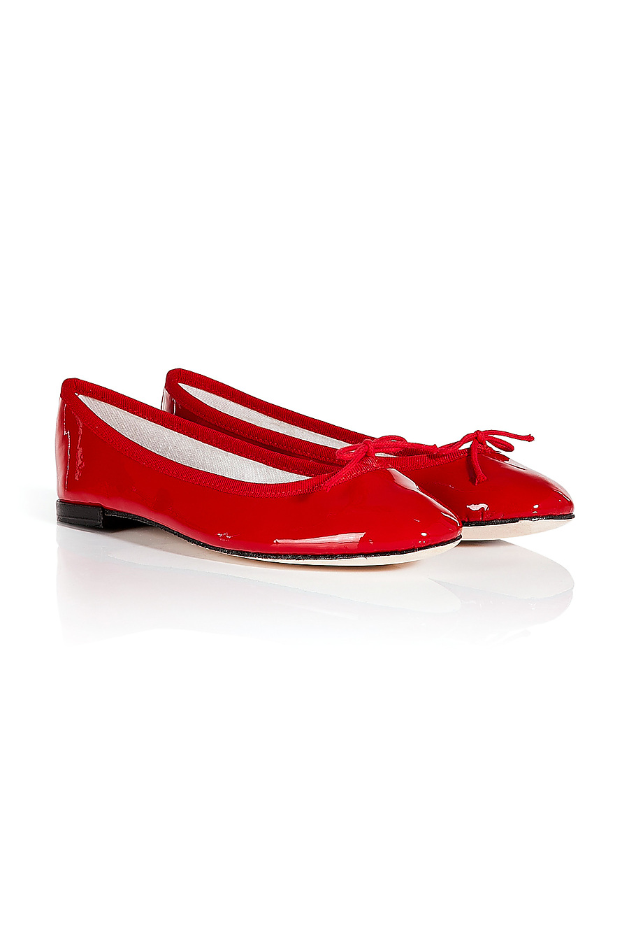 Repetto Patent Leather Cendrillon Ballet Flats