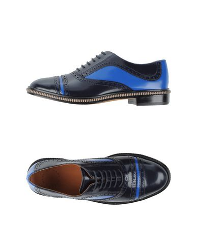 Marc By Marc Jacobs Lace-Up Shoes In Dark Blue