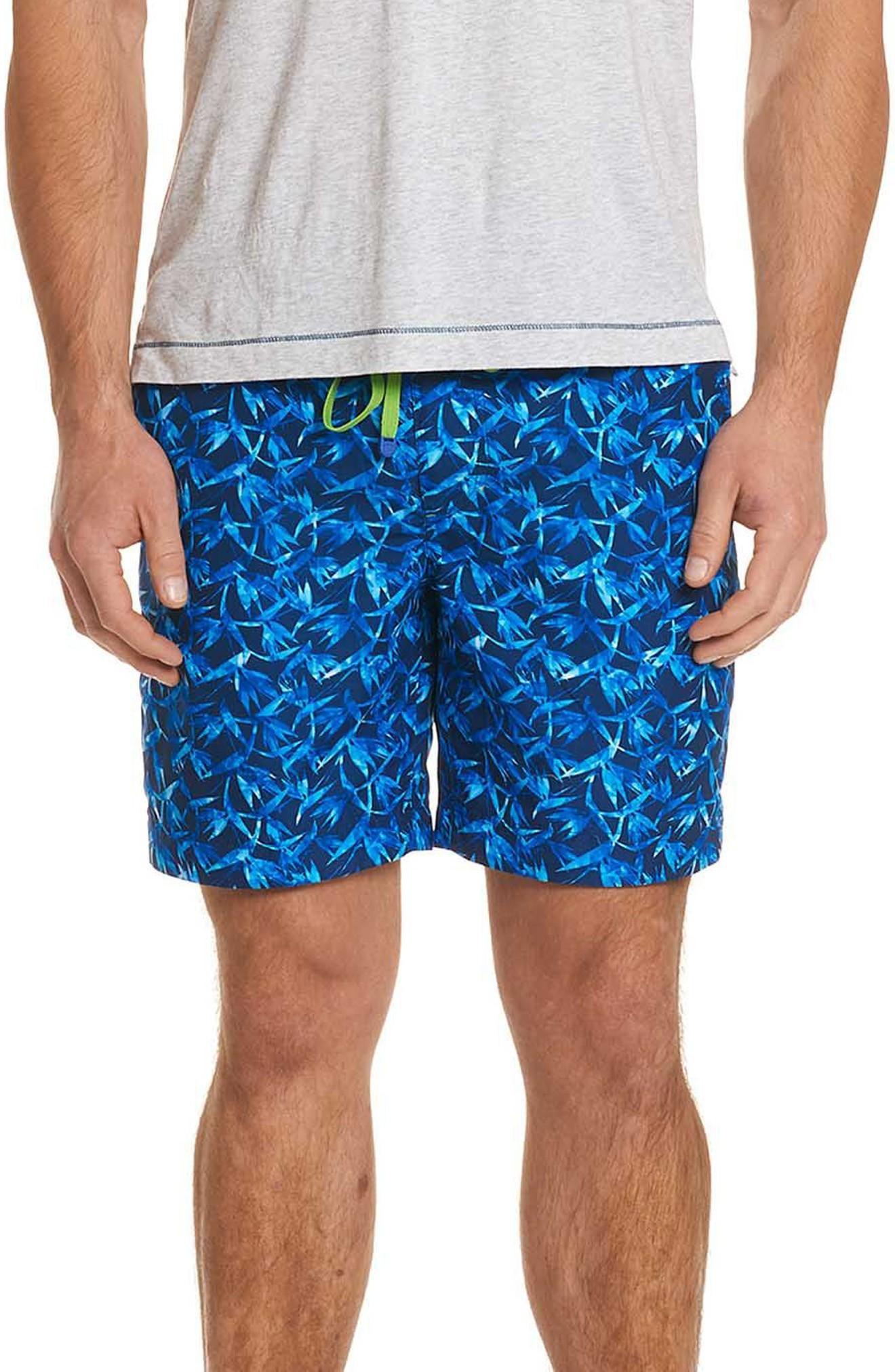 496840c175 Robert Graham Santa Maria Classic Fit Swim Trunks In Blue | ModeSens