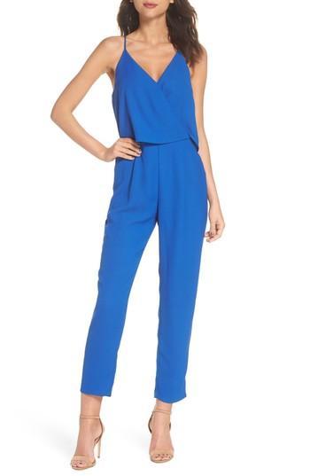 e0de6027 19 Cooper Deep V-Neck Sleeveless Jumpsuit In Cobalt | ModeSens