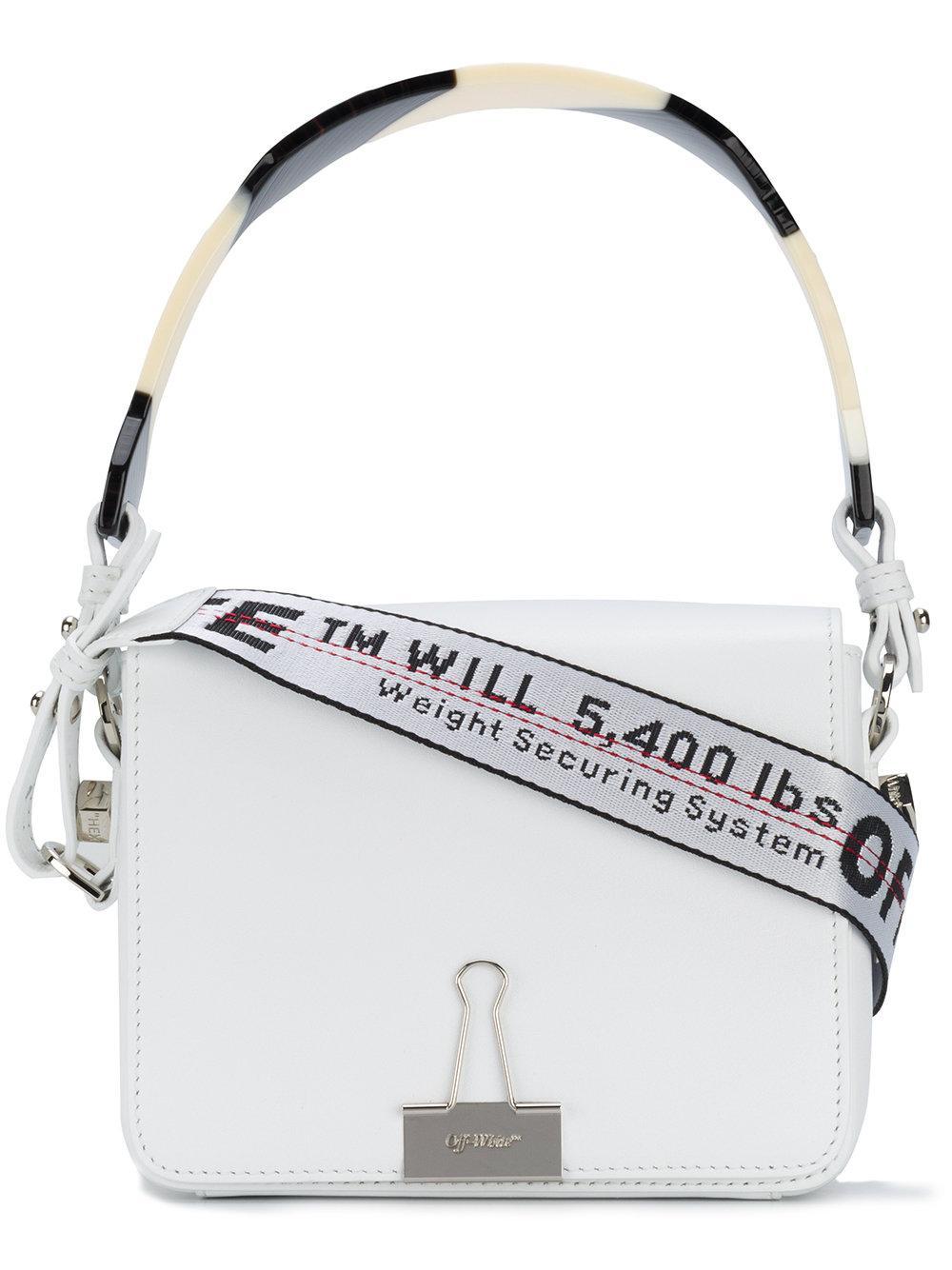 5997a086d493d Off-White Kleine Handtasche - Weiß