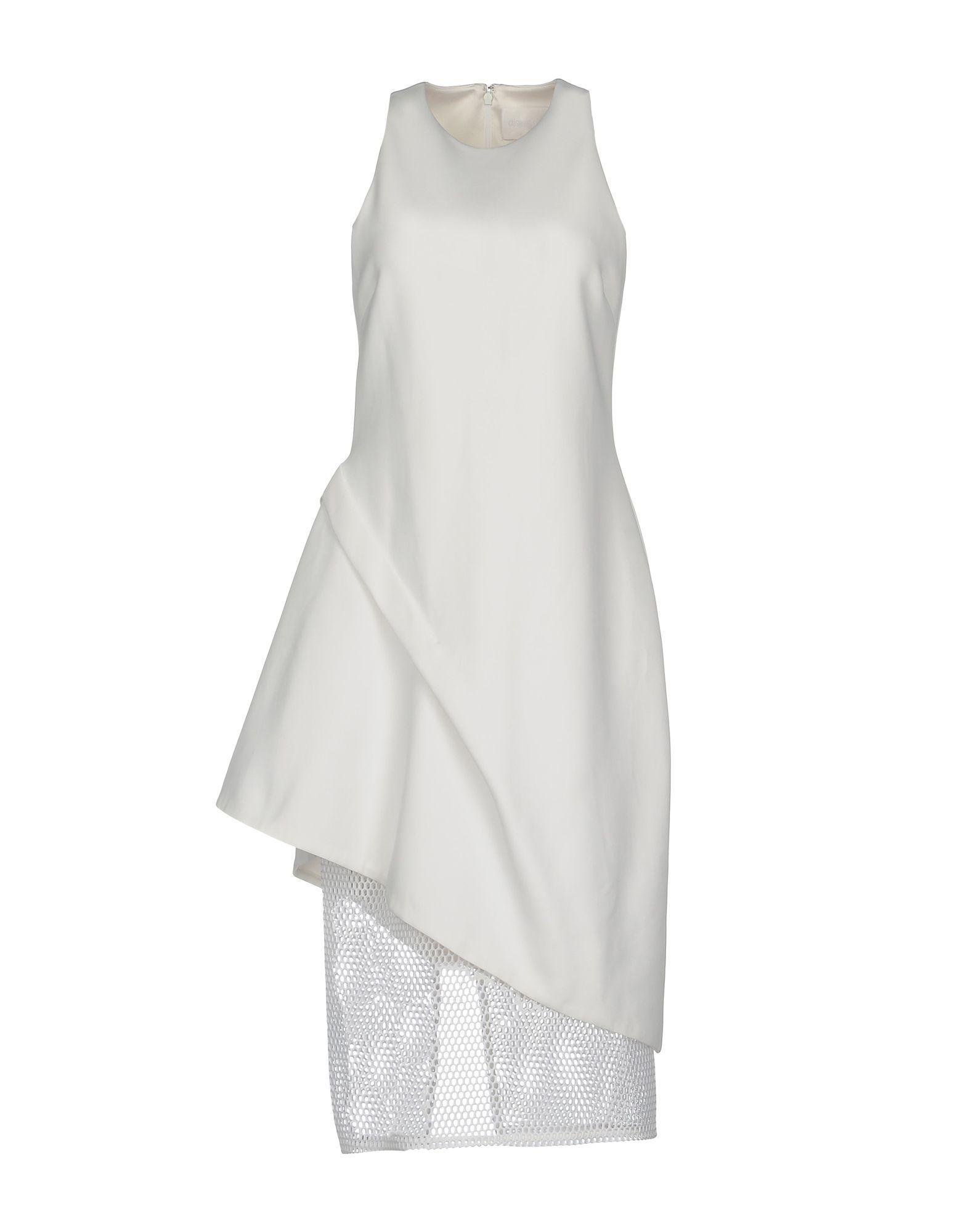 Cushnie Et Ochs Knee-Length Dress In White