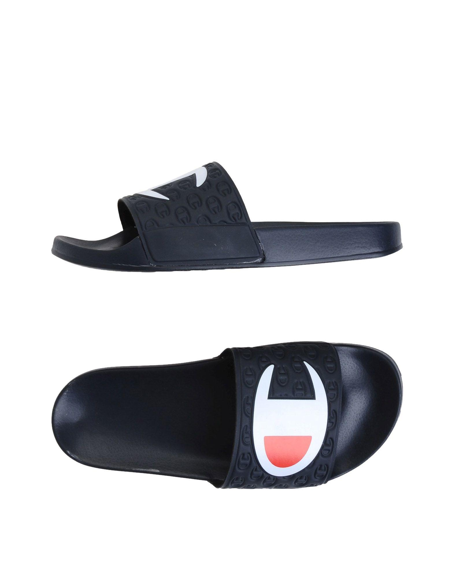 6c37870a5609f Champion Multi-Lido Slide - Black