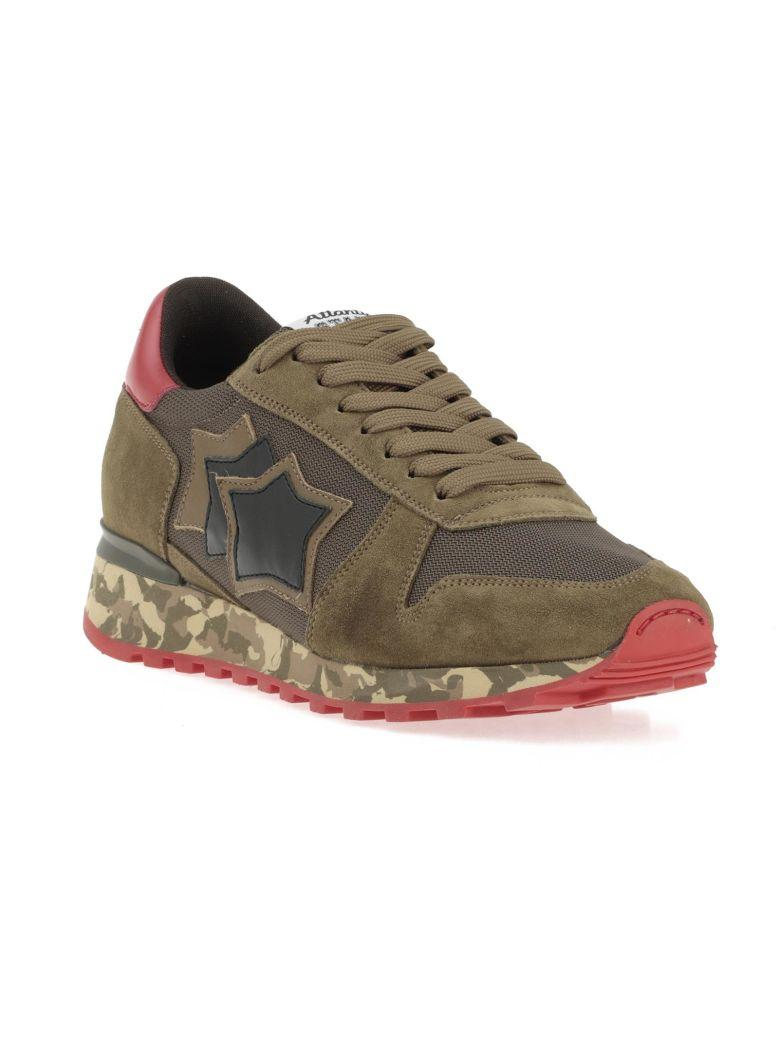 Atlantic Stars Argo Sneaker In Green