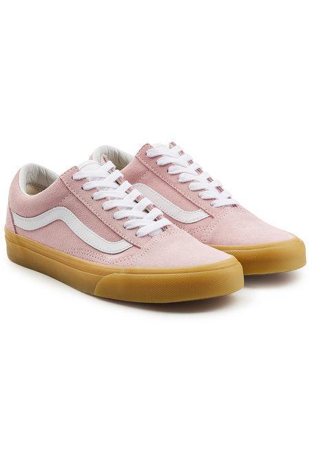 e42d3db069 Vans Old Skool Suede Sneakers In Magenta