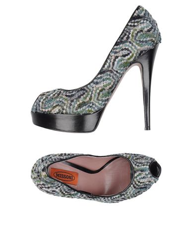 Missoni Pump In Deep Jade