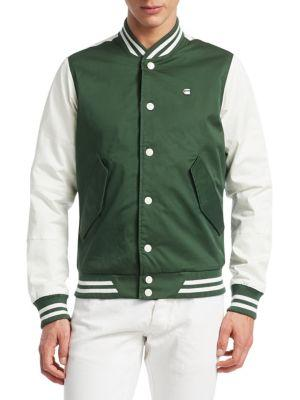 9269ead30 Rackam Sports Bomber Jacket in Deep Nuri Green