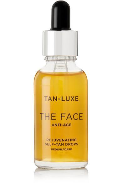 Tan-luxe The Face Anti-age Rejuvenating Self-tan Drops - Medium/dark, 30ml In Colorless