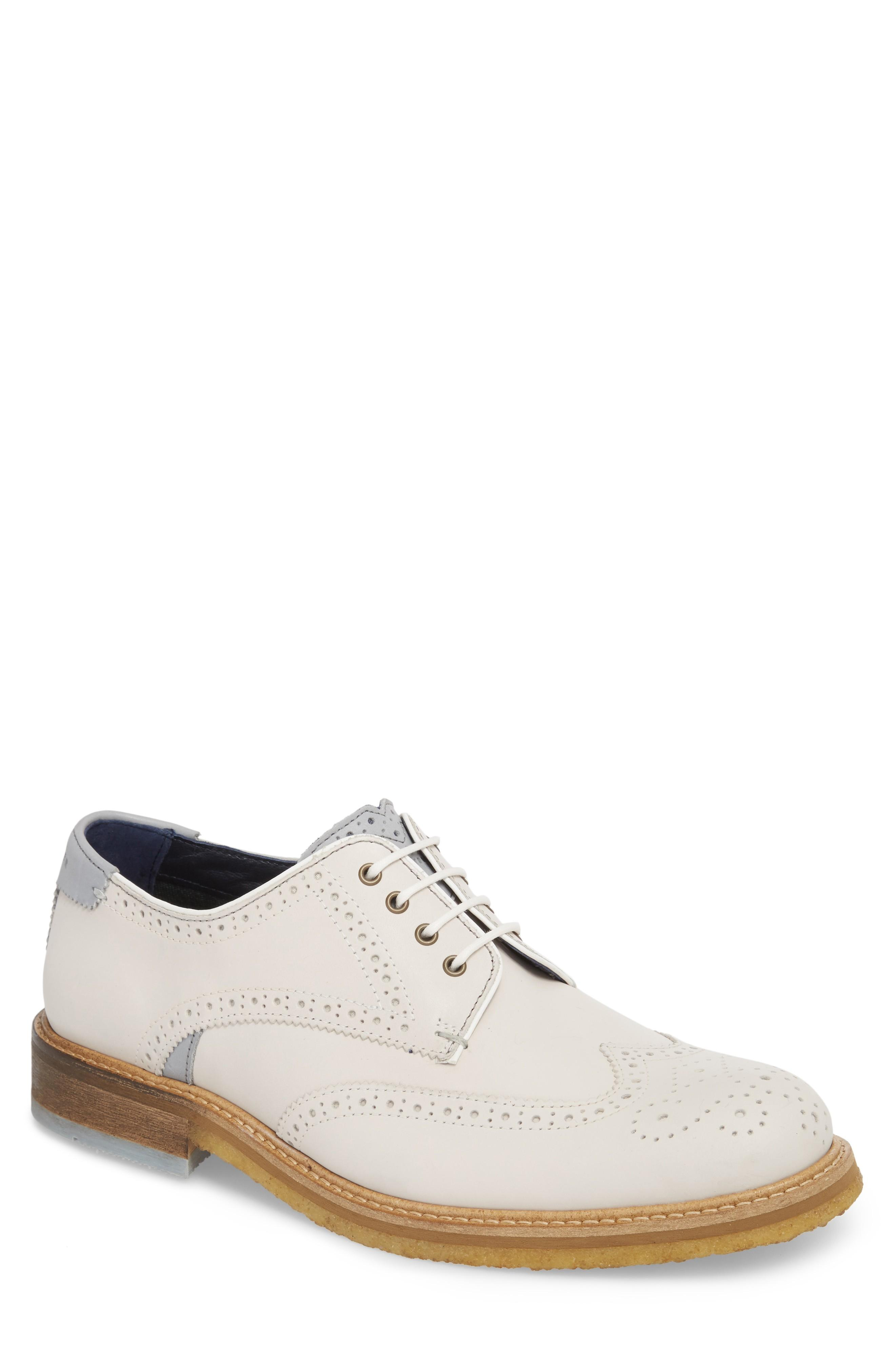 02244ed24bc053 Style Name  Ted Baker London Prycce Wingtip Derby (Men). Style Number   5243521. Available in stores.