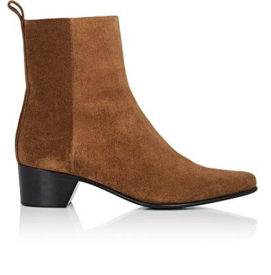 Pierre Hardy Reno Leather Ankle Boots - Camel