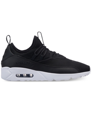 Nike Men's Air Max 90 Ez Casual Sneakers From Finish Line In Black/black-white