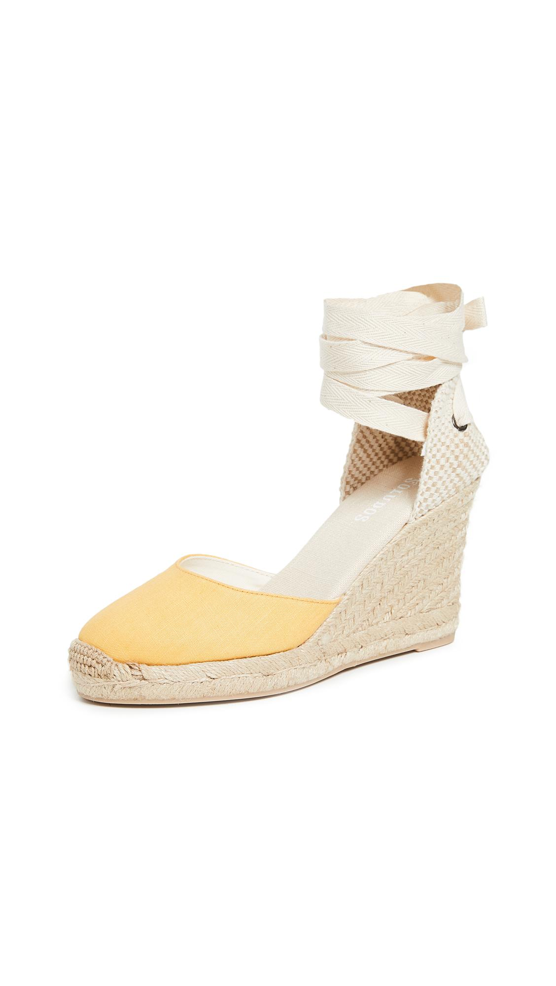 92a6b2e2bf2 Tall Wedge Espadrilles in Marigold