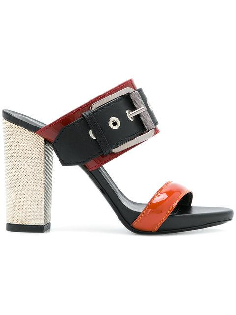Barbara Bui Buckled Open-Toe Sandals