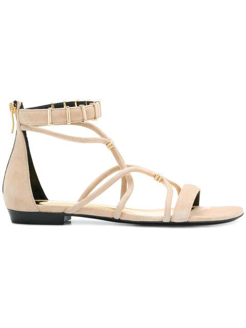 Barbara Bui Open-Toe Strapped Sandals In 08