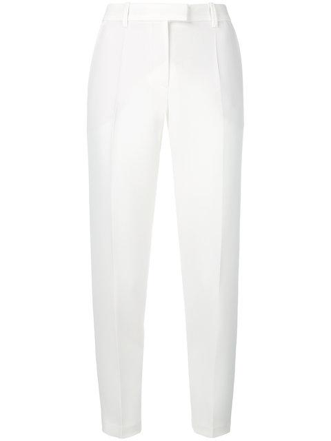 Barbara Bui Tailored Fitted Trousers In White