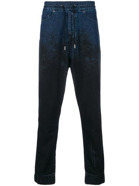 Diesel Black Gold Drop Crotch Denim Jeans