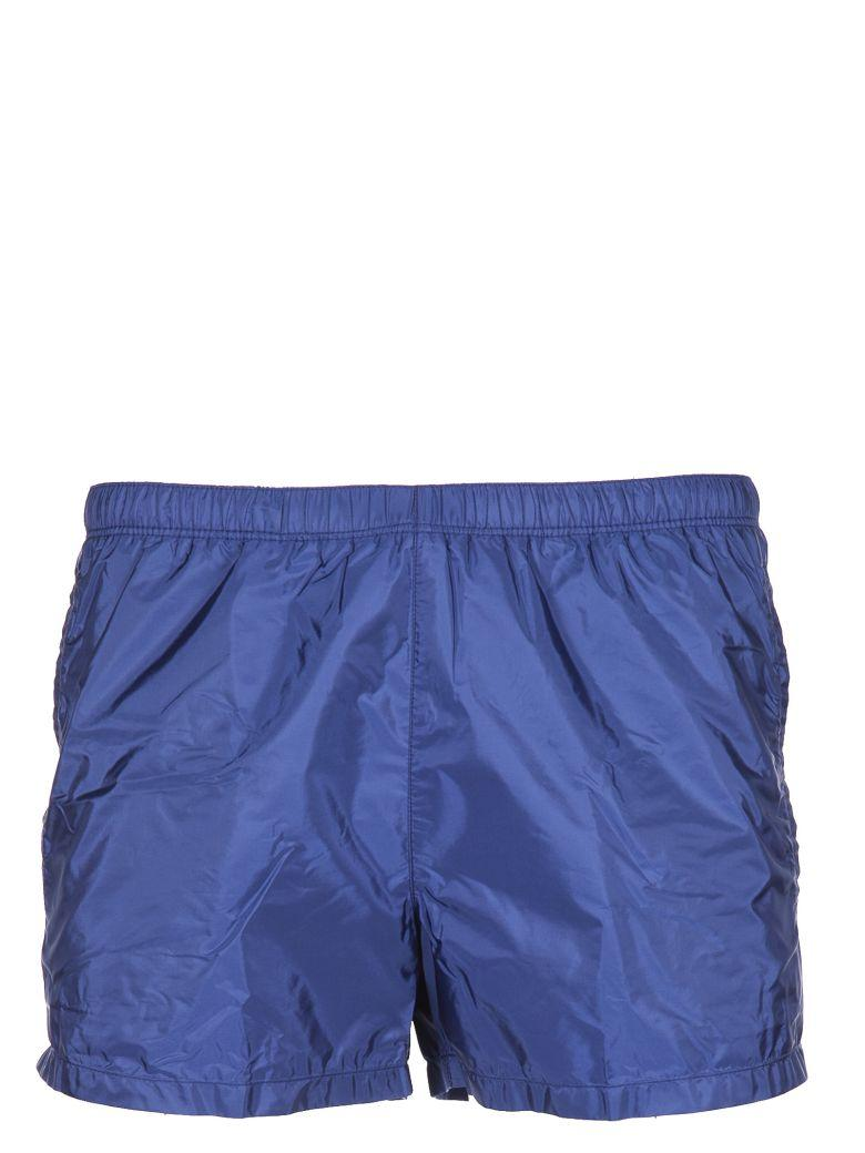 fa197fb7e3 Prada Swim Trunks In Blue | ModeSens