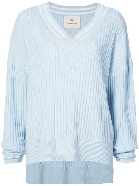 By. Bonnie Young Oversized V-neck Sweater