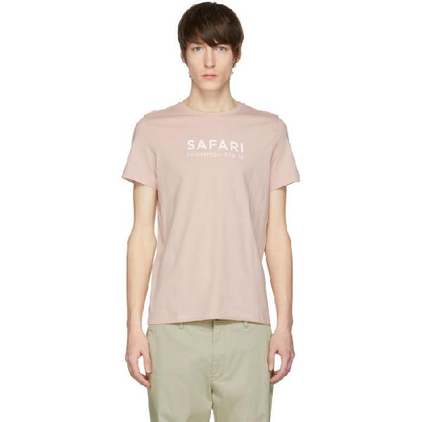 Éditions M.r Pink 'safari' Bird T-shirt