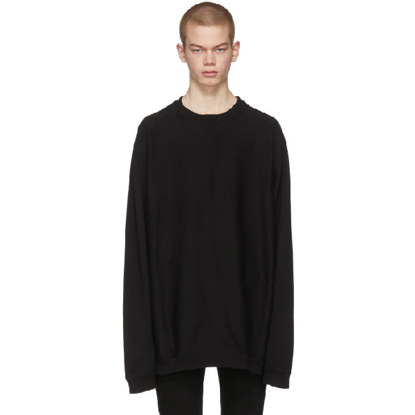Takahiromiyashita The Soloist Black Oversized Freedom Sweatshirt