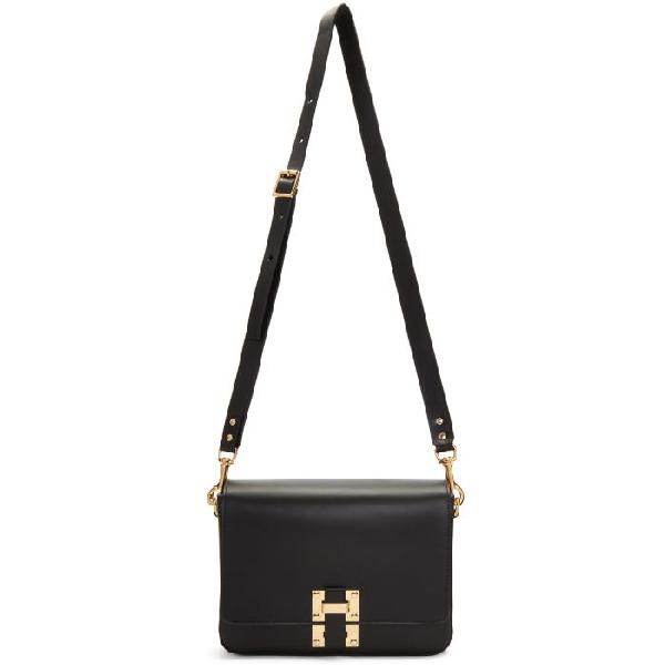 Sophie Hulme Black Large Quick Bag
