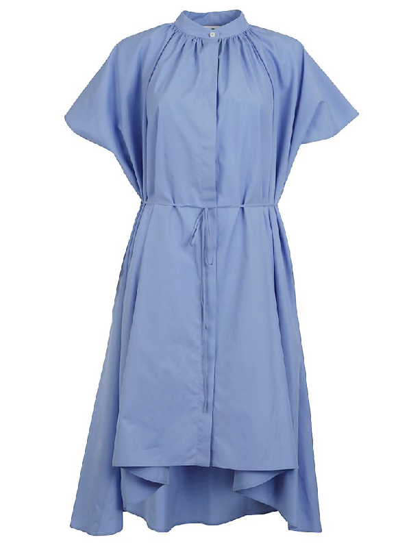 Jil Sander Emotion Dress In Blue