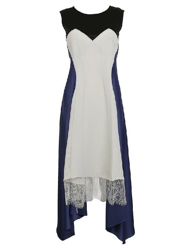 KochÉ Lingerie Dress In Blue