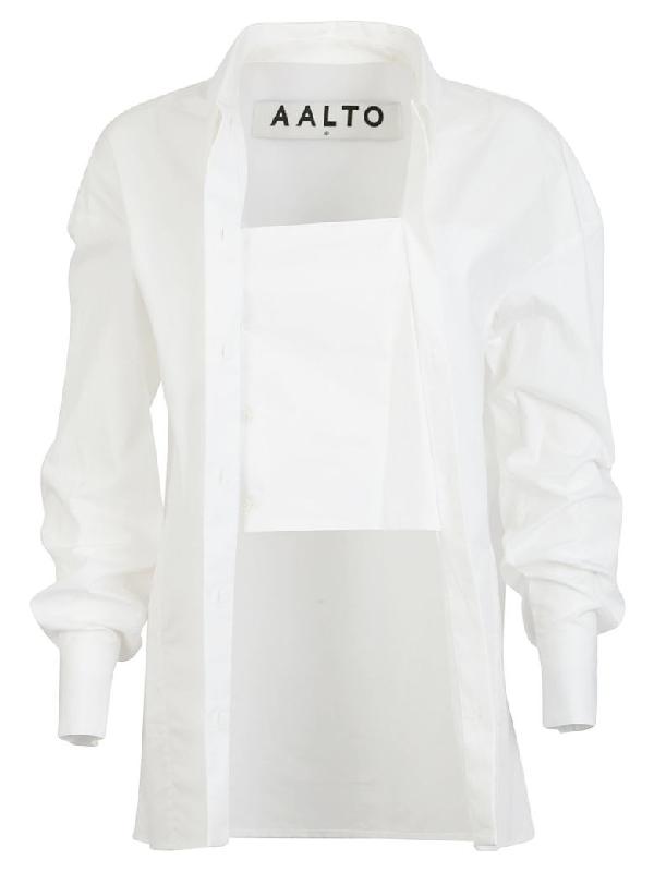 Aalto Long Shirt In White
