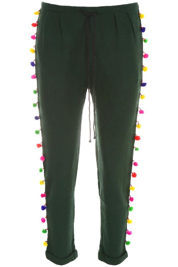 Mes Demoiselles Isba Trousers In Green