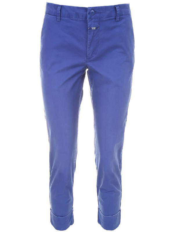 Closed Chino Trousers In Worker (blue)