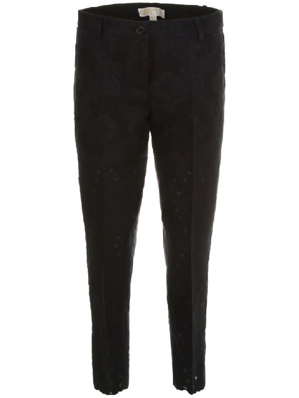 Michael Michael Kors Miranda Trousers In Black (black)